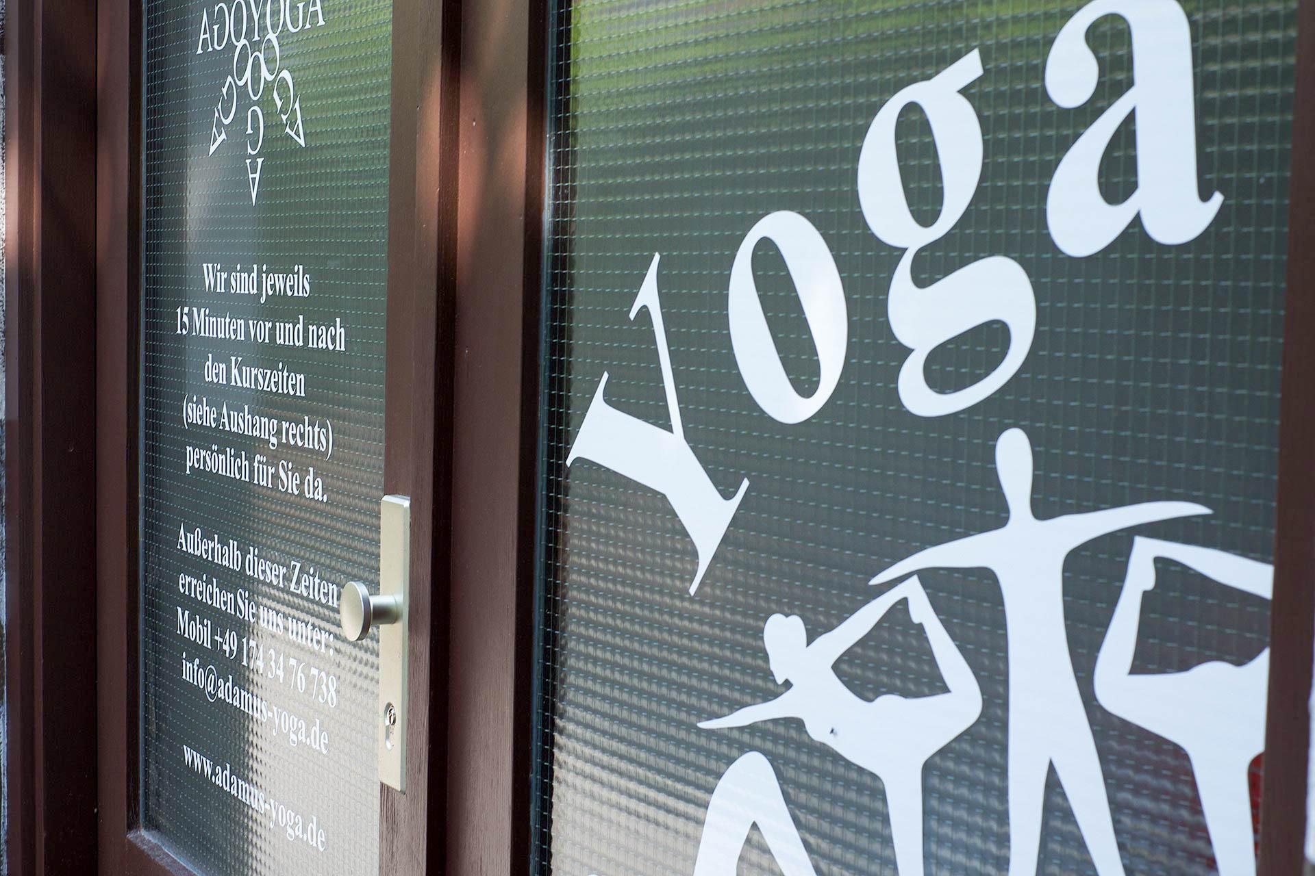 Eingang <br />Yoga Shala