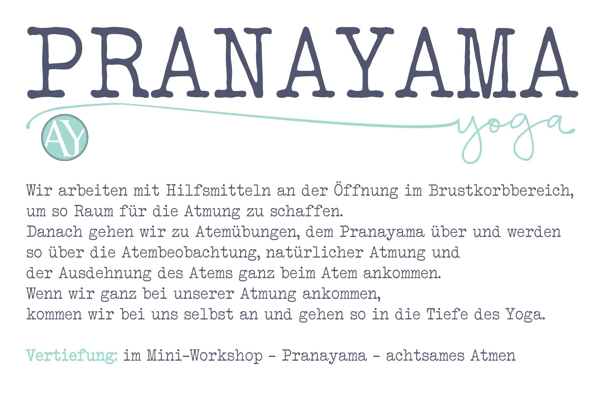 Pranayama <br />Miniworkshop