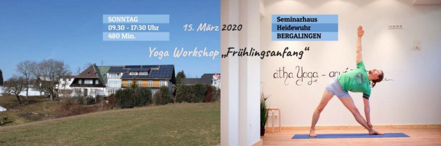 Yoga Workshop Frühlingsanfang | COPYRIGHT © Adamus Yoga Studio 2020