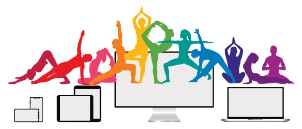 Adamus Yoga Studio gibt jetzt Onlinestunden über das Internet
