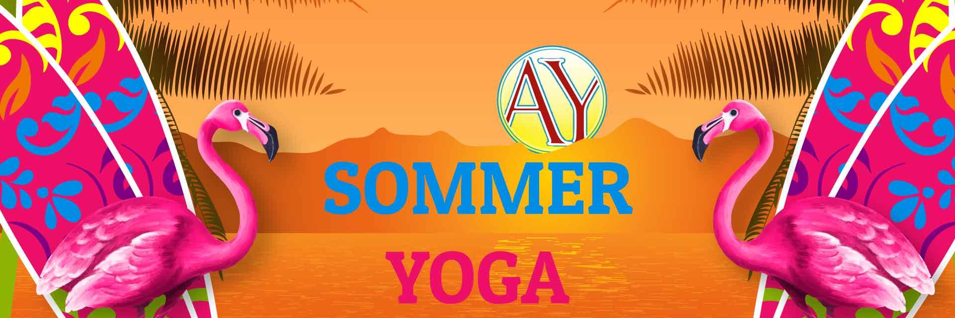 Sommeryoga als kleines Übungsprogramm