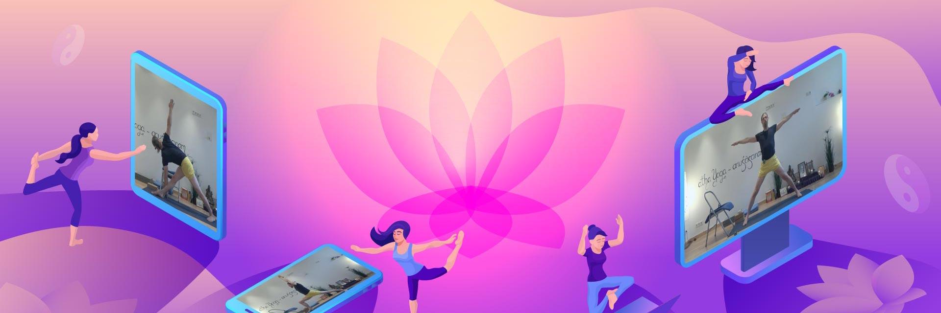 Adamus Yoga Studio gibt neu auch Onlinekurse