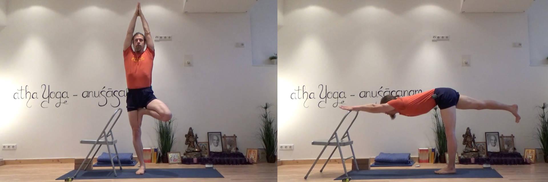 Adamus Yoga auf Vimeo - Krieger 1