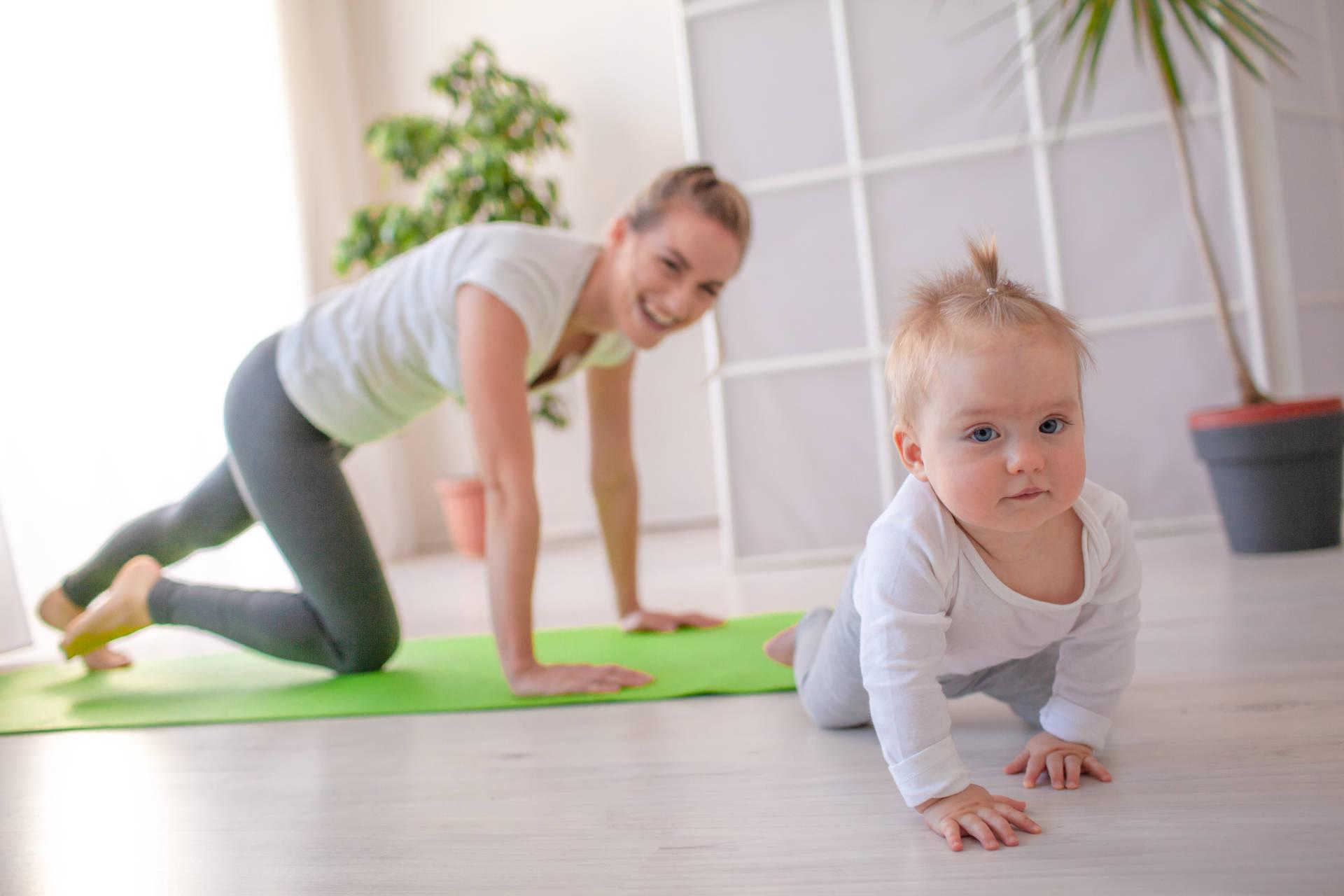 Rückbildungskurs mit Yogaelementen