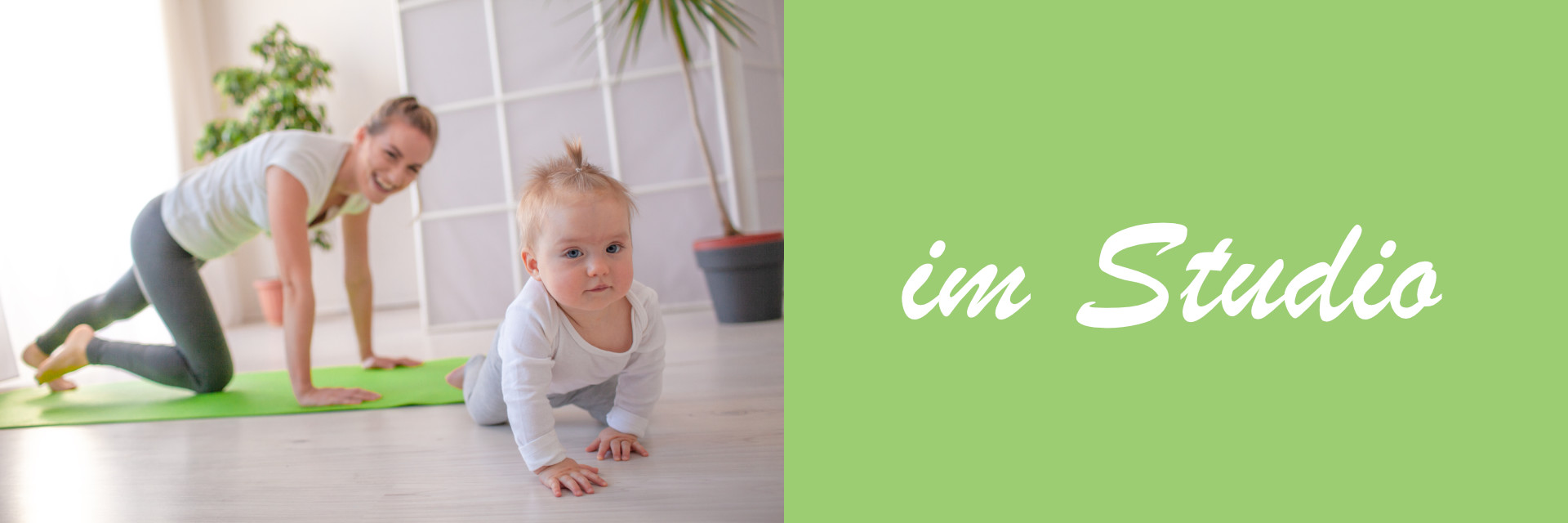 Rückbildungskurs Geburtsvorbereitung mit Yogaelementen